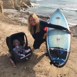 Erster Surfurlaub mit 5 Monaten